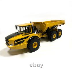 1/14 RC Hydraulic Articulated Truck A40G Metal Model RTR YELLOW