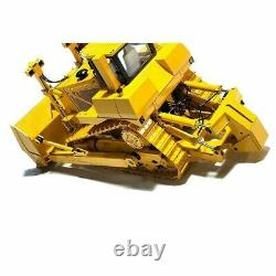 1/14 Scale RC Remote Control Hydraulic Bulldozer Collectible Model Gift Toy