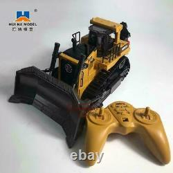 116 Remote Control Truck 8ch Rc Bulldozer Machine On Control Car Toys For Kids