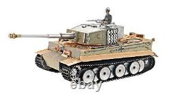 2.4Ghz 1/16 Tiger I RC Tank Middle Versio Metal Edition with Barrel Recoil R/C
