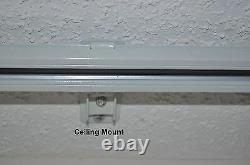 20' Remote Electric Motorized Window Treatment Drapery Curtain Rod Kit