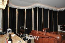 20ft Remote Control Motorized Curtain Drapery Track for Windows, Stage, Theater