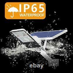 300W Solar Outdoor Street Light, 228 LED, 2500 Lumens, Security Flood Lamp, IP65