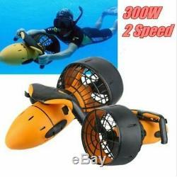 300W Waterproof Electric Underwater Scooter Water Sea Pool Propeller Diving Toy