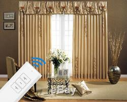 310 cm (122) Remote Control Motorised Curtain Tracks (Electric drape rails)
