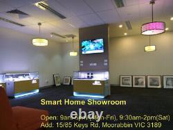 4 x12W Smart ZigBee RGBW LED Downlight Kit for Home Automation Alexa Google Home