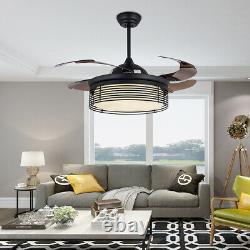 42 Invisible Fan light Ceiling Fan Electric Fan LED Light Luxury Chandelier