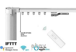 5M Motorised Curtain Tracks, Remote Control Curtain, Electric Curtain Rails