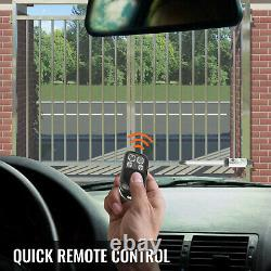Automatic Gates Electric Remote Swing Gate Opener Kit 551lb Remote Control