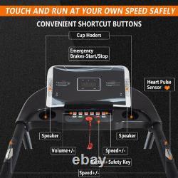 BTM Treadmill Electric Motorised Folding Running Machine Gym Fitness 16km/h
