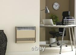 Baxi Brazilia F8S Gas Gas Fired Wall Hung Heater Flue Included Beige Natural Gas