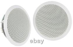 Bluetooth Ceiling Speaker Kit Adastra WA-215 Set in-Wall remote USB SD Radio
