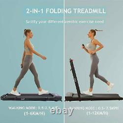 CAROMA Walking Treadmill Machine LED Display & Remote Control Fitness Machine UK
