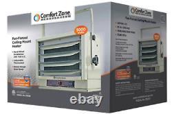 Comfort Zone CZ260ER Ceiling-Mounted 10,000-Watt Fan-Forced Industrial Heater