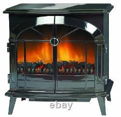 Dimplex Stockbridge SKG20 Electric Stove Freestanding Fire 2KW Optiflame Black