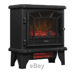 Duraflame DFI-550-22 Infrared Quartz Electric Stove Heater Fireplace with Remote