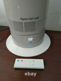 Dyson AM09 Hot and Cool Fan Heater White Boxed Remote FREE P&P