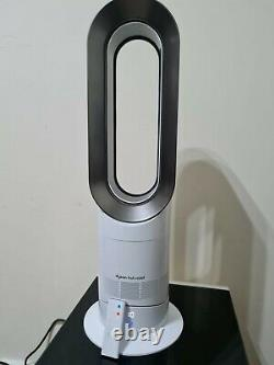 Dyson AM09 Hot and Cool Fan Heater White with Remote Control
