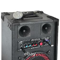 Floor PRO 10 600W HOME DJ SPEAKERS MOBILE DISCO PARTY EVENTS USB SD MP3 PAIR