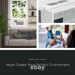 HOmelabs 8,000 BTU Window Air Conditioner Cool with Smart Control and Window Kit