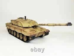 Heng Long Radio Remote Control RC Tank Challenger 2 Version 6 Infrared 2.4 BB