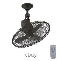 Home Decorators Bentley III 22 in. Indoor/Outdoor Natural Iron Ceiling Fan