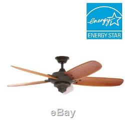 Home Decorators Collection Altura 56 in. Indoor Oil Rubbed Bronze Ceiling Fan