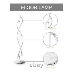 LED Floor Lamp Warm White Dimmable Modern Tall Lighting Living Rooms Bedrooms