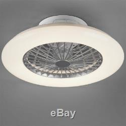 LED ceiling fan QUIET daylight star effect REMOTE CONTROL timer lamp dimmable