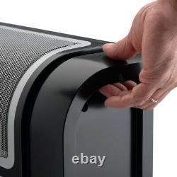 Lasko 6050 1500W Portable Digital Control Cyclonic Ceramic Space Heater, Black