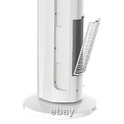 Lasko LKO-FH500 All Season Comfort Remote Control Tower Fan & Heater, White