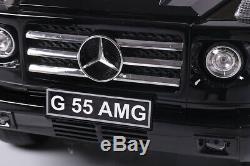 Mercedes Benz G55 Amg Licensed 12v Kids Ride On Jeep Remote Control Car / Cars