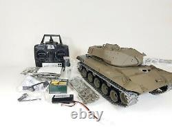 Metal V7 Heng Long Radio Remote Control RC Walker Bulldog M41A3 Tank PRO VERSION