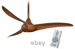 Minka Aire F843-DK Wave Distressed Koa 52 Ceiling Fan with Remote Control