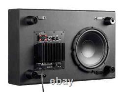 Monoprice SSW-10, 150 Watt Powered Slim 10 Inch Subwoofer Black