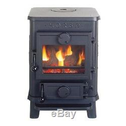 Morso Squirrel 1410 Solid Multi Fuel Stove. 4.5Kw Output. New from Stock