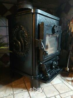 Morso Squirrel 1410 Wood Burning MultiFuel Stove Black