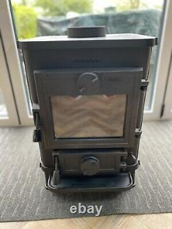 Morso Squirrel 1410 Wood Burning MultiFuel Stove Black/ Collection Only