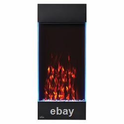 Napoleon NEFVC38H Allure Vertical Wall Hanging Electric Fireplace, 38 Inch Tall