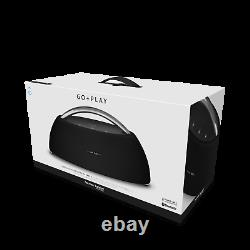 New Harman Kardon Go + Play Portable Bluetooth Speaker Black Plus noise cancel