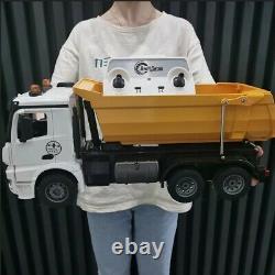 RC Truck Alloy 2.4G Remote Controlled Caterpillar Model Dump Truck