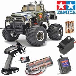 Radio Remote Control RC Tamiya Midnight Pumpkin Metallic Kit Bundle #58365