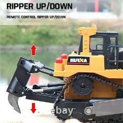 Remote Control 116 8CH RC Truck Bulldozer Machine on Control Toys Car for boys