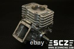 SCZ Racing 28.5CC 9HP case Reed Valve Engine 1/5 Kraken VEKTA. 5 KV5TT baja 5b 5t