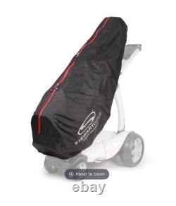 Stewart 2019 X9 Remote Control Golf Trolley / Black Metallic + Lots Of Extras