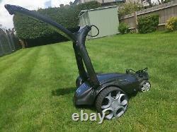 Stewart Golf Trolley Remote X9R (XIX), Metallic Black
