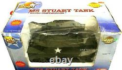The Ultimate Soldier 16 WWII M5 Stuart Tank Open Box Radio Controlled
