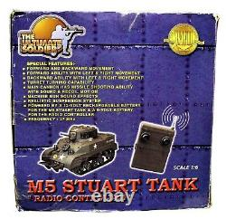 The Ultimate Soldier 16 WWII M5 Stuart Tank With 4 Crew Radio Controlled OB