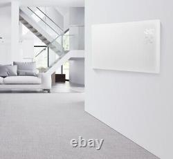 WIFI App Control 2000W White Glass Electric Radiator / Wall Smart Panel Heater