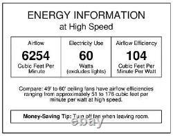 Westinghouse 7861400 Industrial 56-Inch Three-Blade Indoor Ceiling Fan 2 Pack